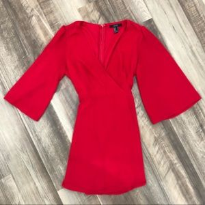 Red mini dress from Forever 21